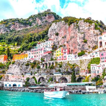 Costa Amalfitana - um paraíso na Itália